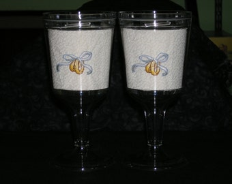 Wedding and Anniversary Wine Goblets