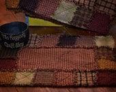 Rag Quilt Placemat E-Pattern