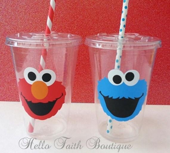 Elmo cups