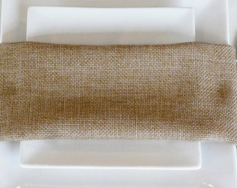 Burlap Tablecloth, Burlap Overlay, FAUX BURLAP, ships 1 day,  Other sizes available