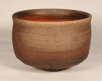 Bizen / Tamba - style Hi-iro Chawan (Tea Bowl) - 5 Day Anagama 2012