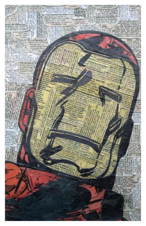 Iron Man Print 11x17