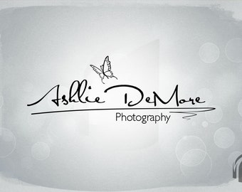 Photography Logo and Watermark...Logo design...Pre made logo design