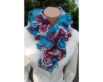 SALE FLAMENCO SCARF Lilac, Burgundy, Sea Green 19430  Made by Order