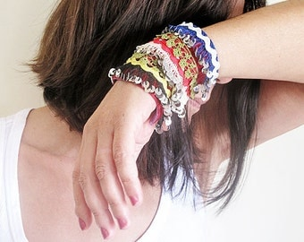 Custom Cuff Bracelet, Gypsy, Bohemian Cuff, Blue, Red, Green, Black, Boho Chic Bracelet, Turkish Jewelry, Statemen Cuff