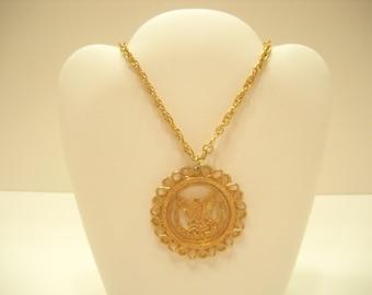 VINTAGE RAFAELIAN PENDANT (840) Necklace