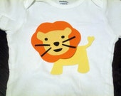 Lion Iron On Applique