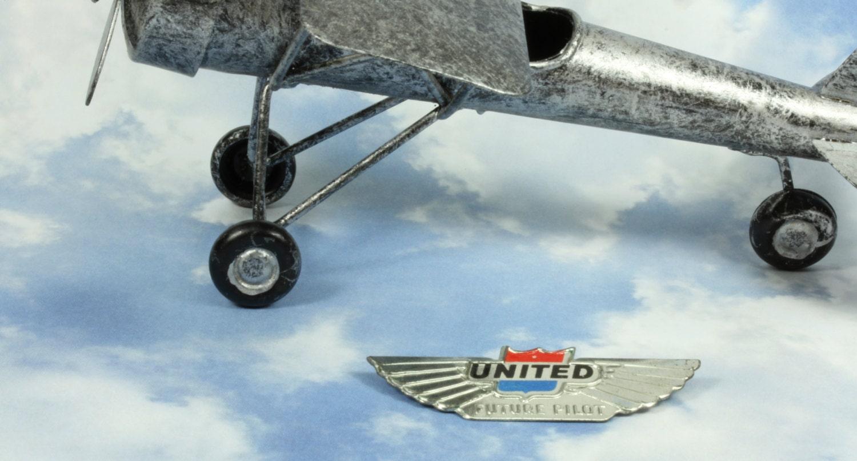 United Airlines Vintage 75