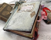 Shabby chic Wedding Guest Book - rustic theme