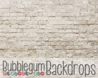 Indoor Brick Wall - Vinyl Photography Backdrop Floordrop Prop