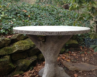 Concrete Faux Bois Table