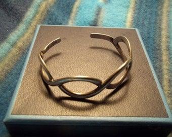 Vintage Sterling Silver Bracelet 925 Mexico