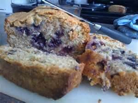 Zucchini Bread w/Blueberries 12 Loaves of Homemade bread, Moist Delicious Zucchini bread Get 12 Loaves FREE SHIPPING