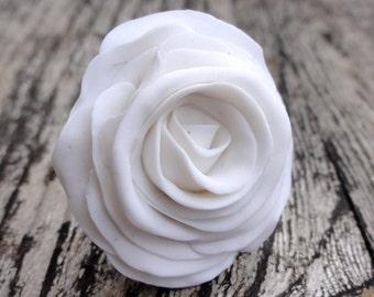 FLOWER RING - white