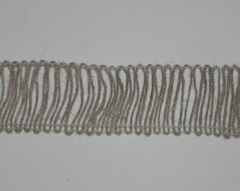 "Natural Jute Decorative Ribbon 1-1/2"" Width Trim Wedding Bows Scrapbook 1 Yard"