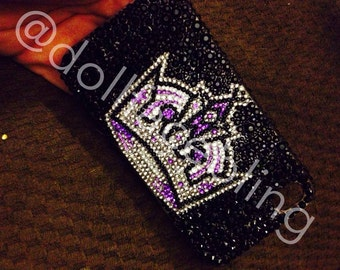 MADE TO ORDER la kings crown bling crystal case iphone galaxy ipad