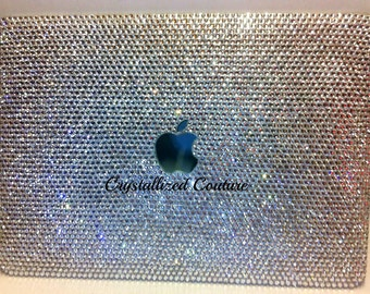 "Macbook Pro 13""  Clear Case embellished with Swarovski® crystals"
