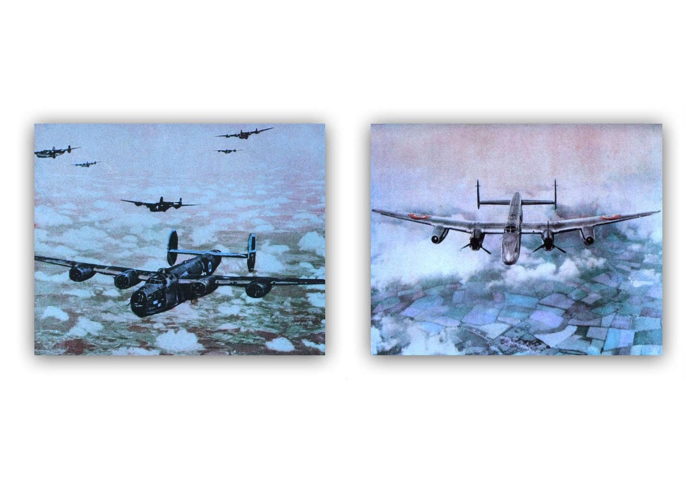 Boys wall art airplane set of 2 prints boy nursery by Boys wall decor
