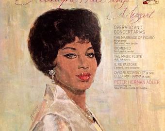 Glittered Leontyne Price Sings Mozart Vintage Record Album