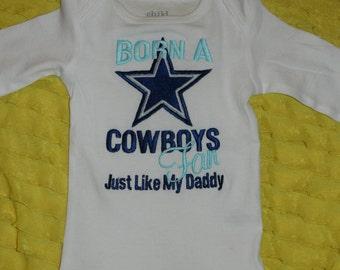 Items Similar To Born A Cowboys Fan Just Like My Grandpa