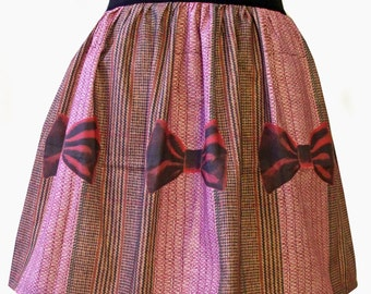11th Doctor Inspired Full Skirt