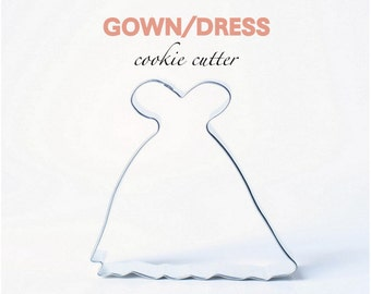Gown Dress Cookie Cutter