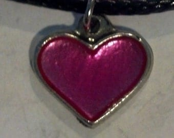 Fine Pewter Heart Necklace
