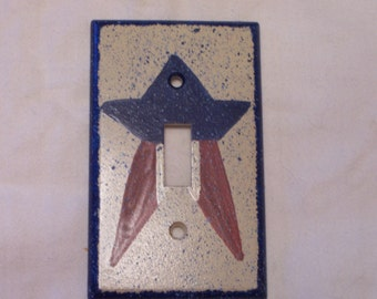 Americana light switch cover FREE SHIPPING