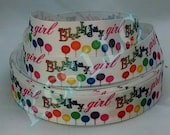 7/8 Grosgrain Happy Birthday Ribbon 5 yards