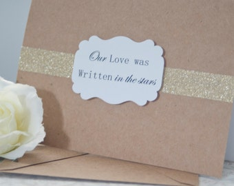 Anniversary Card-Wedding Anniversary-Handmade Cards-Wedding Day Card-Husband Card-Wife Card-Groom Wedding Day Card-First Anniversary Card