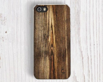 Vintage Wood PRINT iPhone 6 Case, Rustic iPhone 5S Case, Camo iPhone 7 case, iPhone 5C Case, iPhone 7 plus case