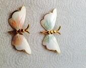Vintage Butterfly Brooch's