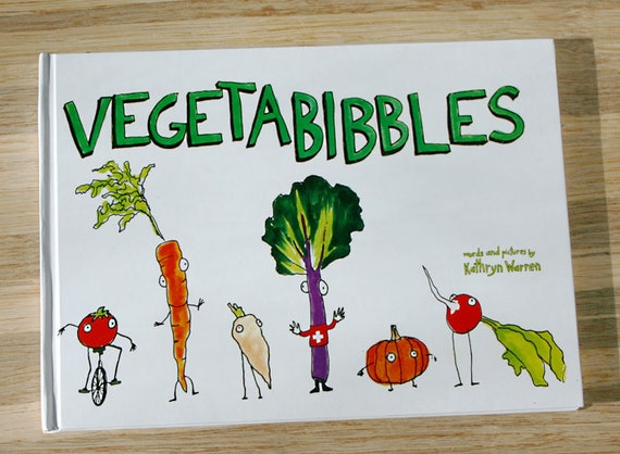Vegetable Book for Children