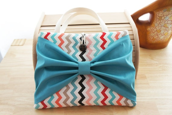 13 Inch Macbook Sleeve, Three Style Movable Bow, Custom for 13'' Laptop