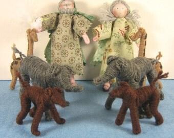 Noah's Ark Storybook Doll Set