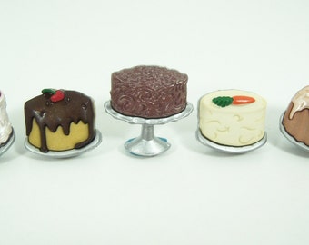 Cake  Push Pins or Magnets