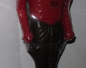 "Vintage rocketeer candy 6"" figure"