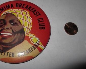 Vintage Collectible Button aunt jemima
