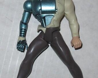 Vintage Action Figure animated superman metallo