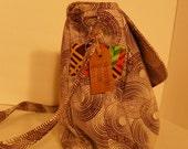 Neutral Diaper Bag/ Messenger Bag