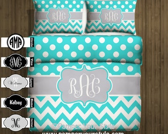 horse bedding brown and teal horse bedroom personalized or