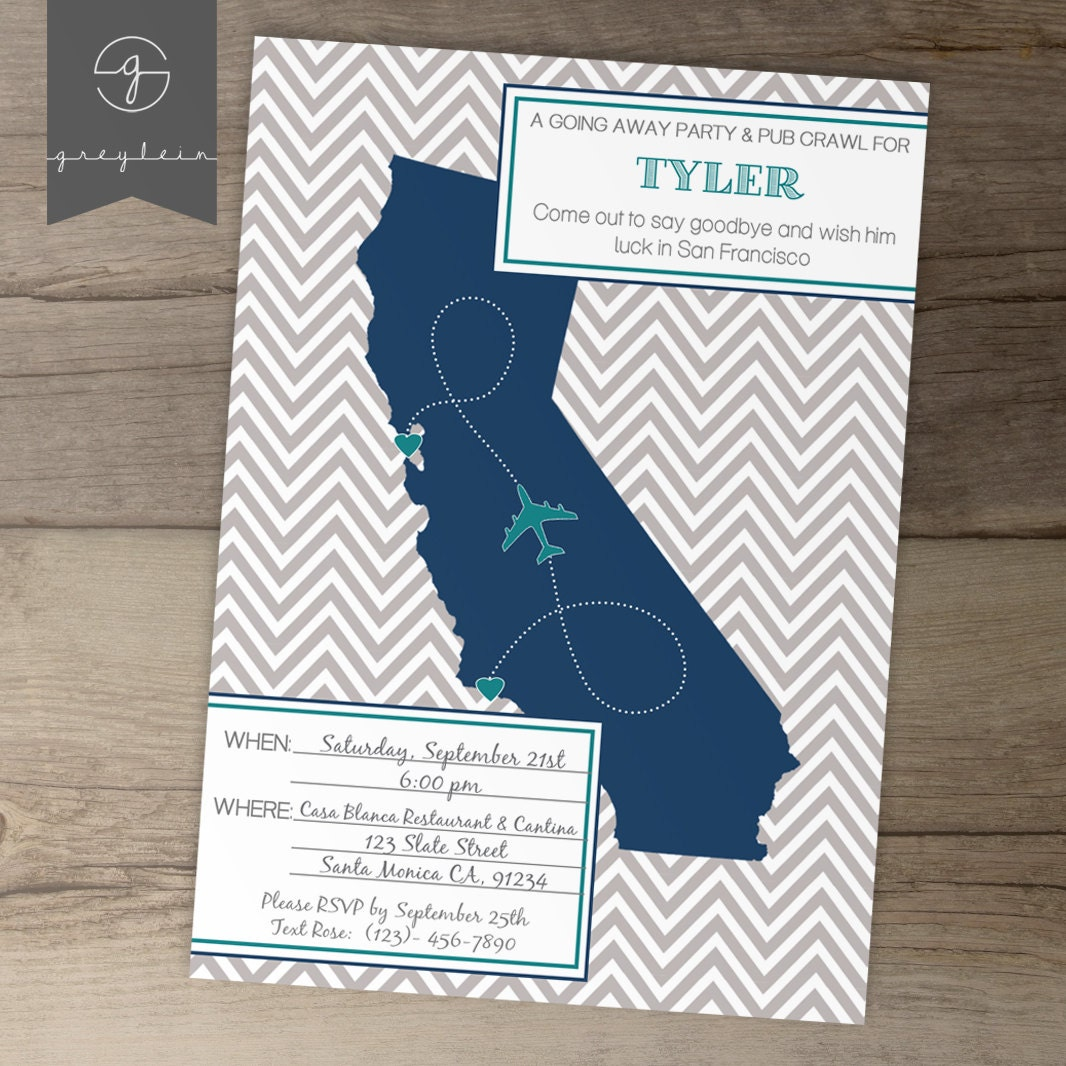 Mesmerizing image throughout free printable going away party invitations