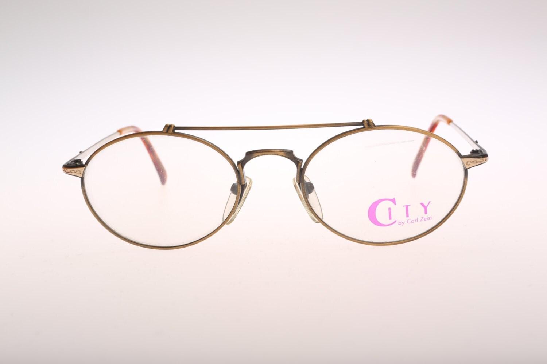 zeiss city 5976 vintage oval eyeglasses nos 90s