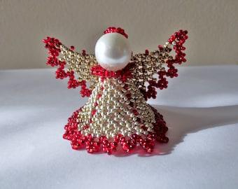 Christmas angel- Beadweaved - Simply adorable