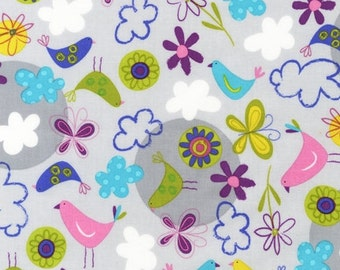 Fly Away - Fabric By The Half Yard 18 inches x 44 inches