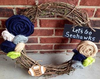 Seattle Seahawks Super Bowl Wreath