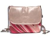 SALE Mini messenger bag, messenger purse, leather bag, leather purse, cross body bag, purse, square shoulder bag, satchel purse bag