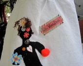 Small Voodoo Doll Tote Bags