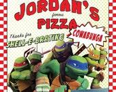 Teenage Mutant Ninja Turtles Digital Pizza Box Cover