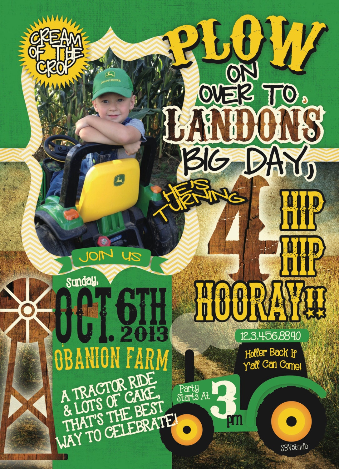 John Deere Party Invitations is one of our best ideas you might choose for invitation design